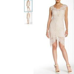 Free People Peek A Boo Lace Dress - Size Small